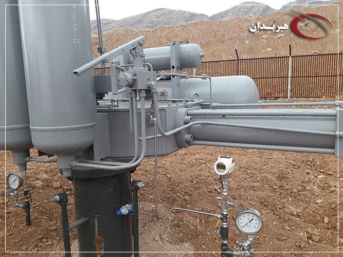 تزریق گاز خط لوله صادراتی عراق در گستره کوهدشت-چارمله و دزفول-کوهدشت