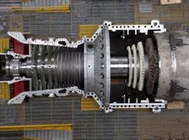 بخش گازی نیروگاه سیکل ترکیبی ۵۰۰ مگاواتی پاسارگاد قشم