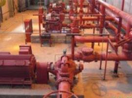 پروژه سیستم اطفاء حریق نیروگاه دماوند