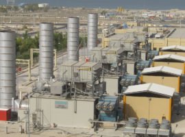 180 MW Simple Cycle Power Plant – Asaluyeh